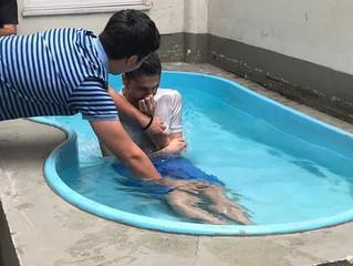 Batismos na Universidade