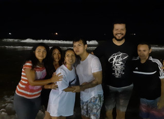 Batismo do Cristhian e da Kayli