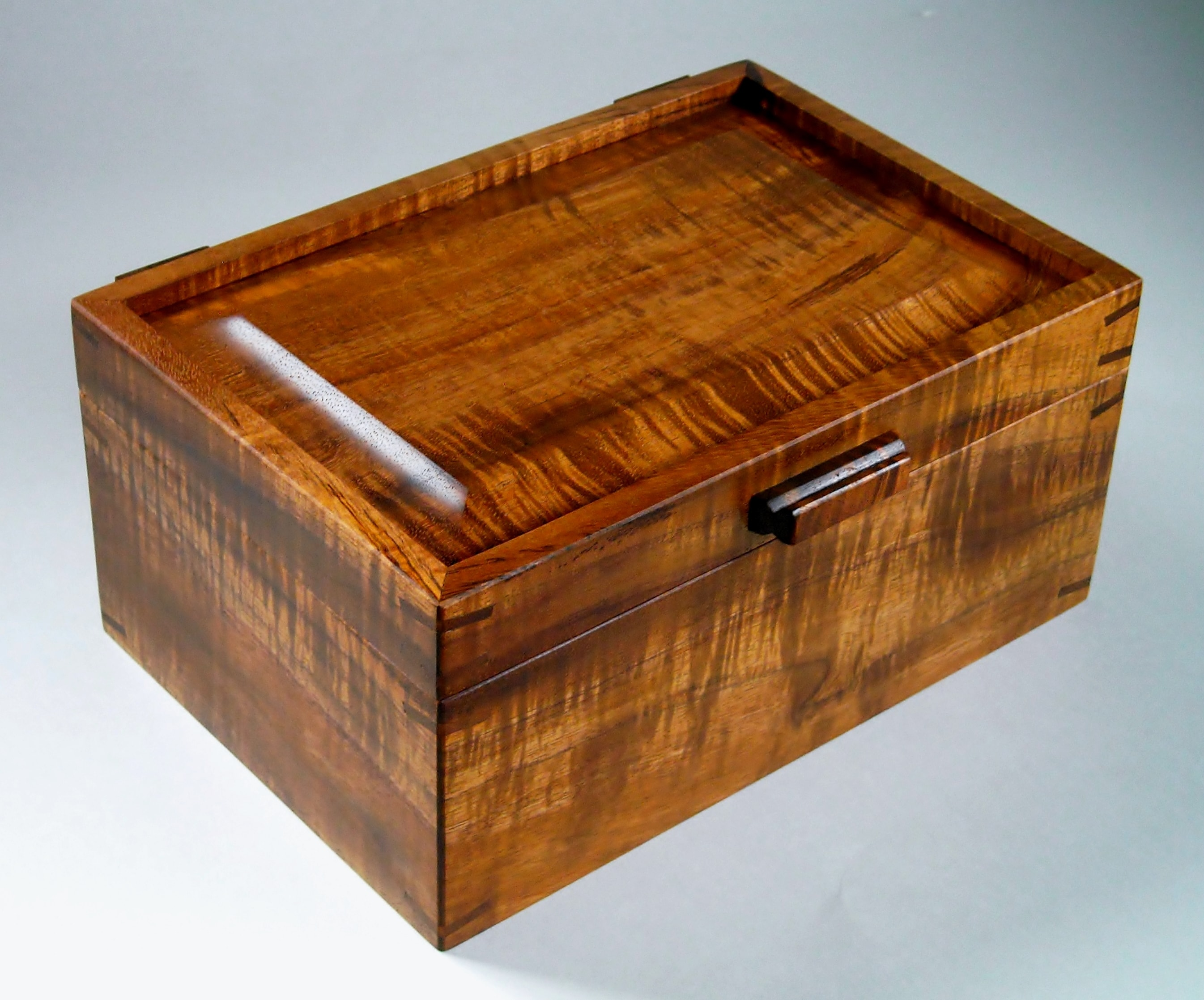 Koa Jewelry Box with tray