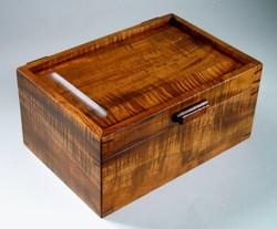 Koa Jewelry Box with tray