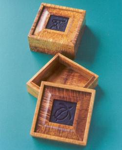Square Raised-Panel Box