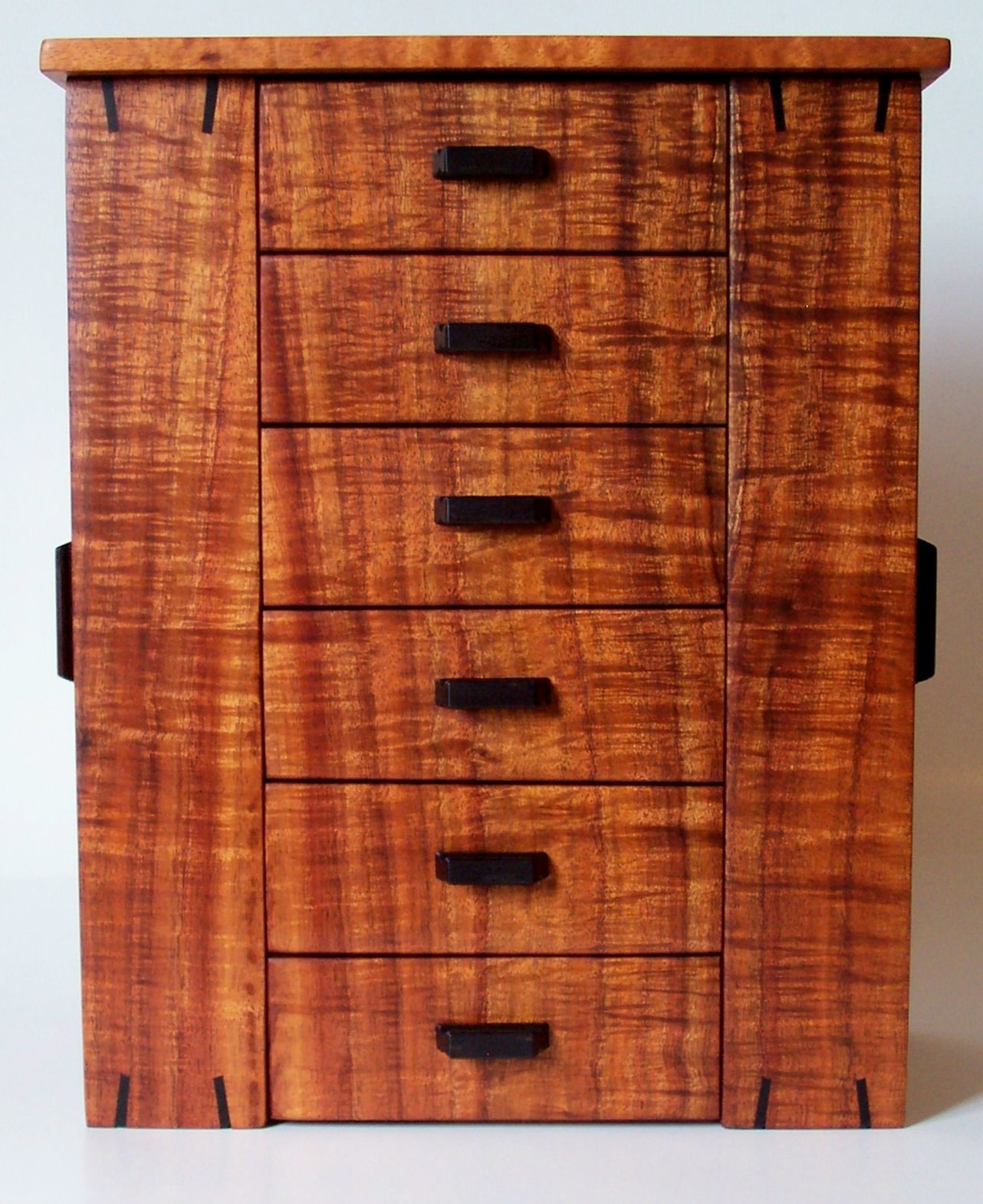 Original Koa Jewelry Armoire