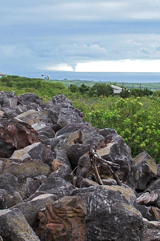 Kilauea volcano plume