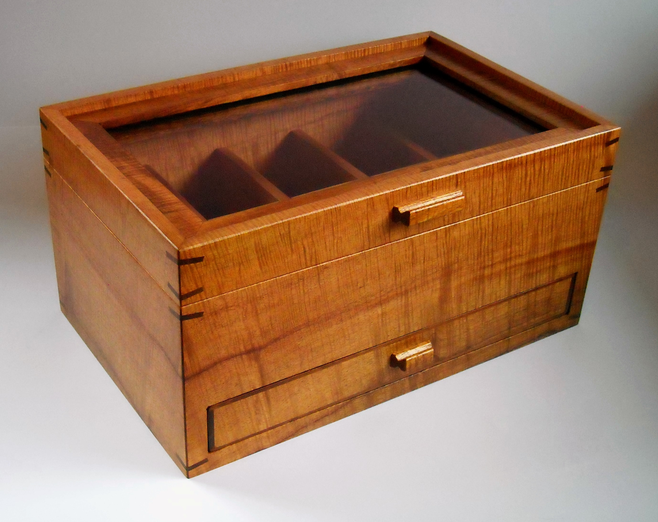 Koa Drawer Watch Box