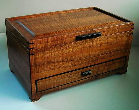 Hawaiian Koa Woodworking Custom Koa Wood Boxes