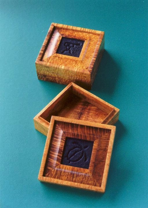 Hawaiian Koa Wood Boxes