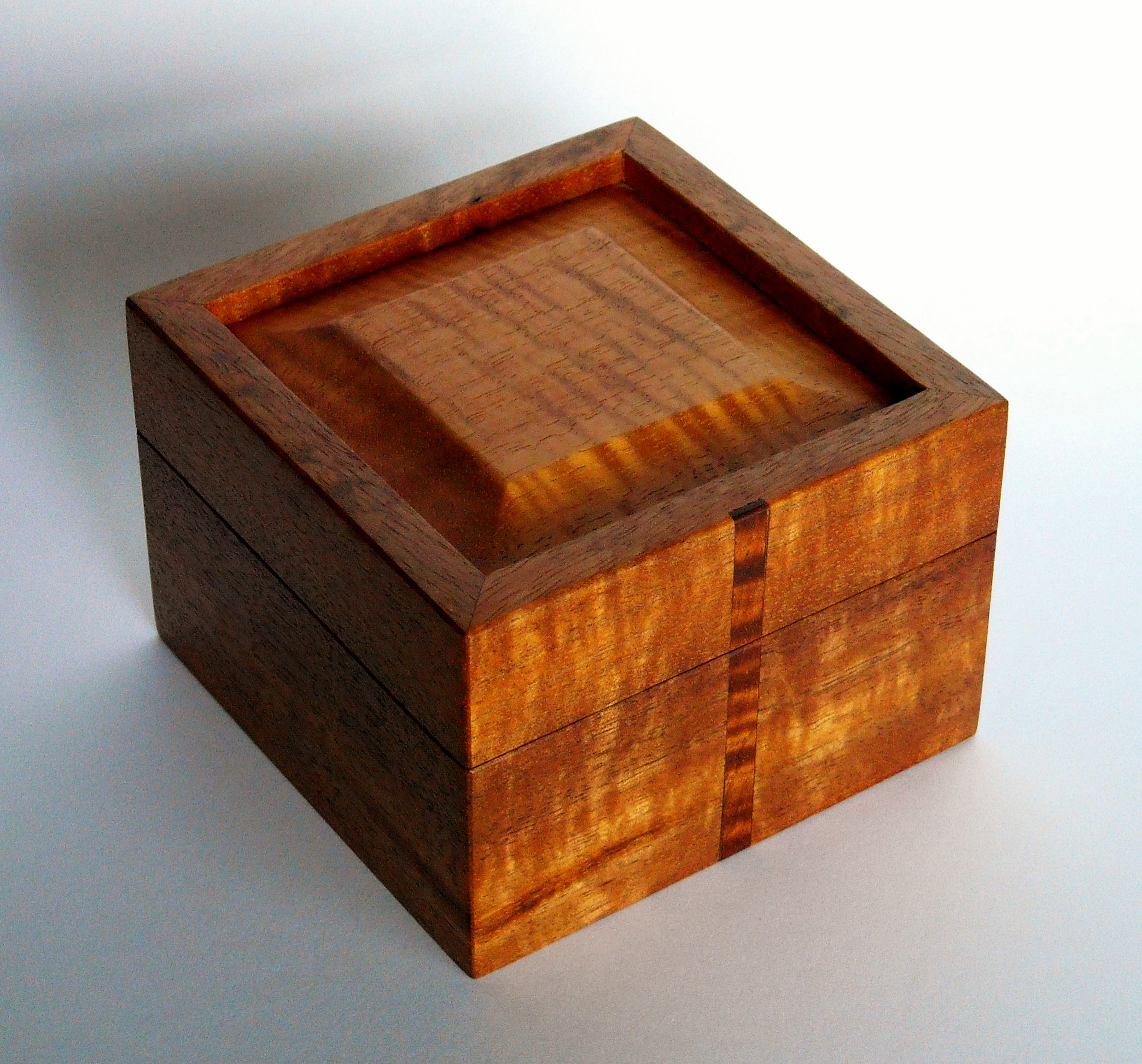 Lift Lid Koa Box