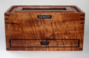 Koa Petroglyph Drawer Box