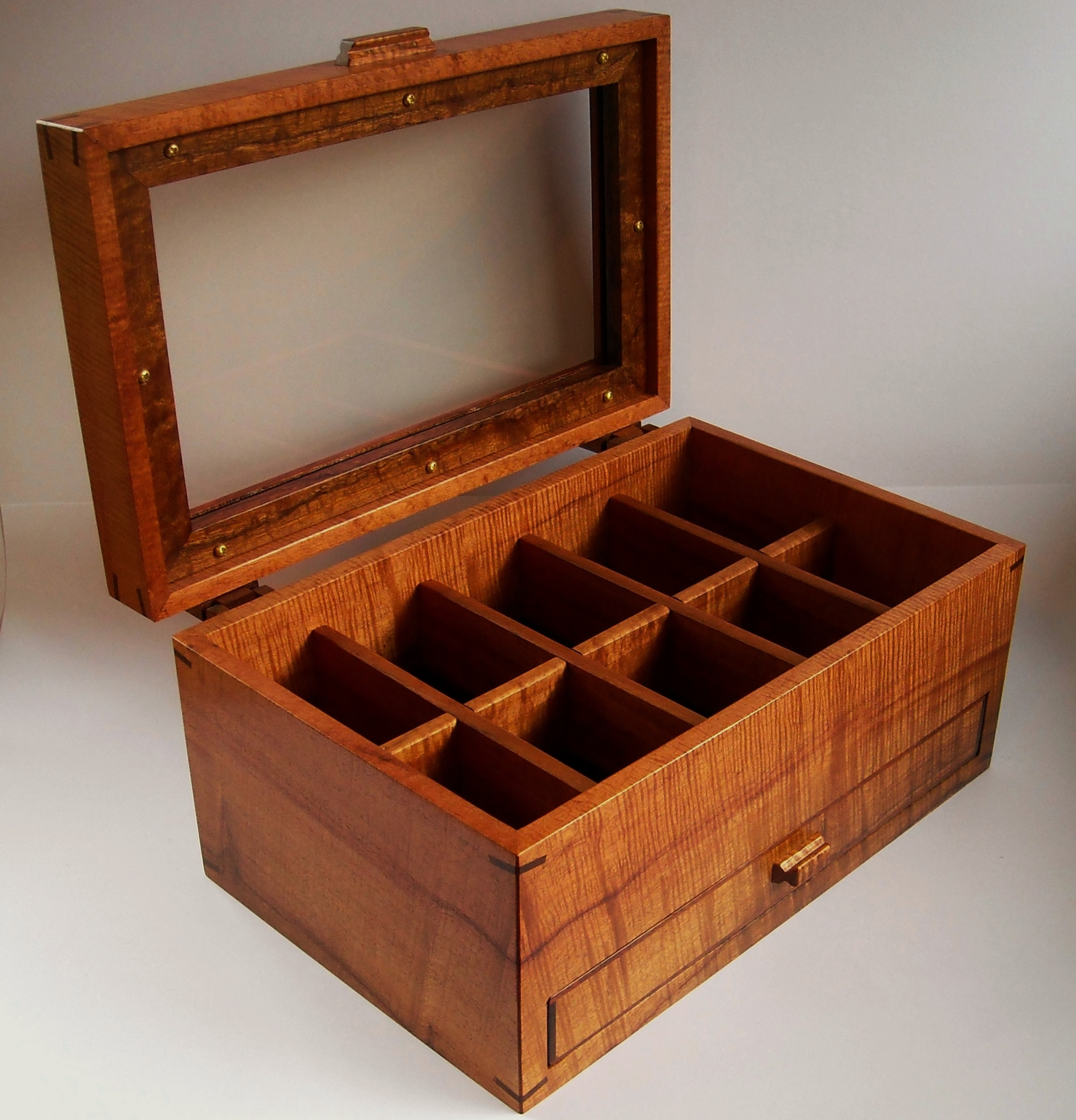 Koa Drawer Watch Case