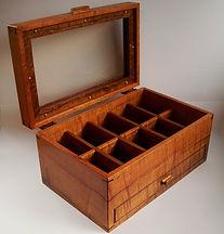 Koa Box Trays and Drawers