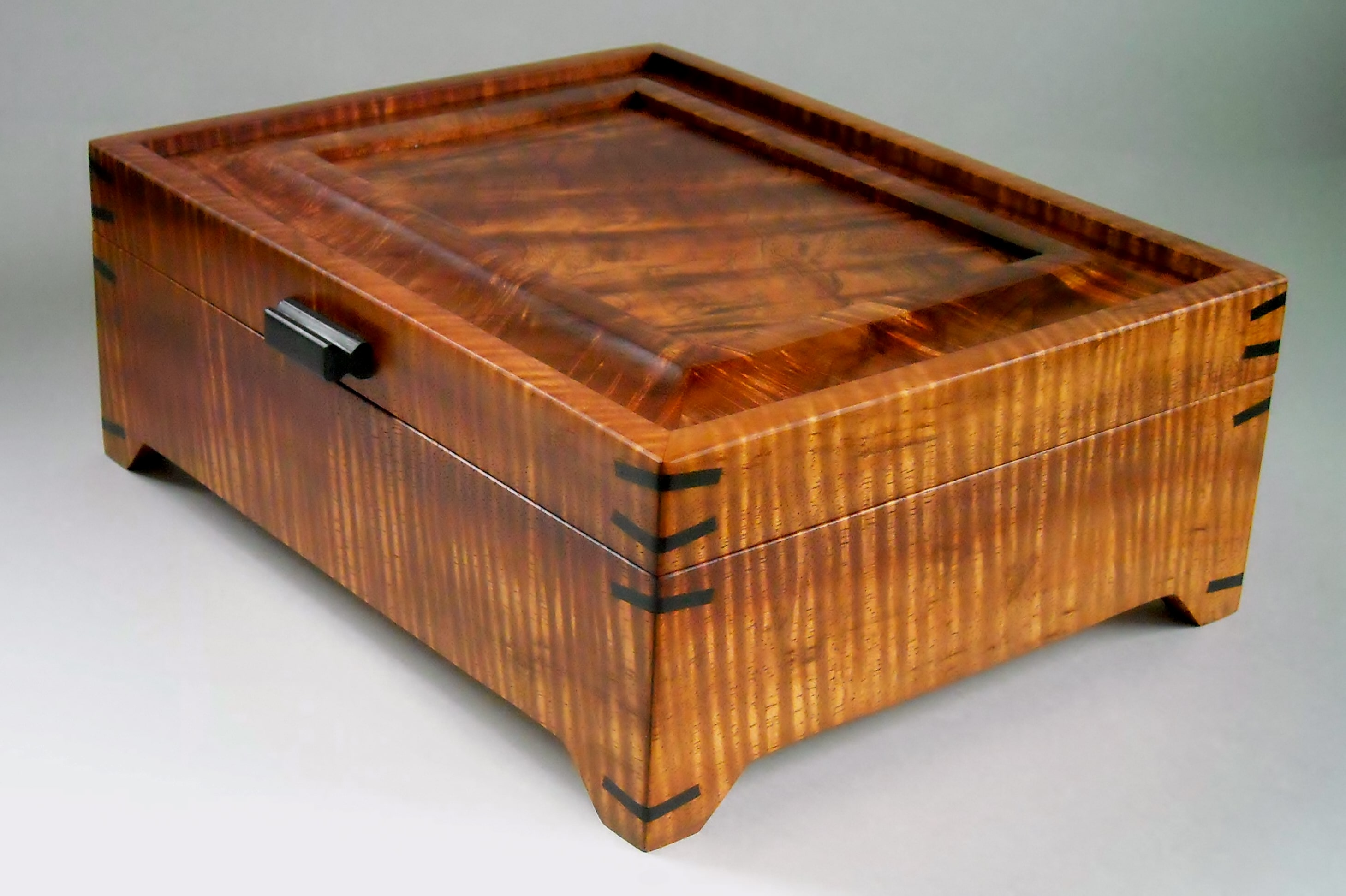 Footed Koa Box