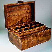 Koa Box Trays and Drawers