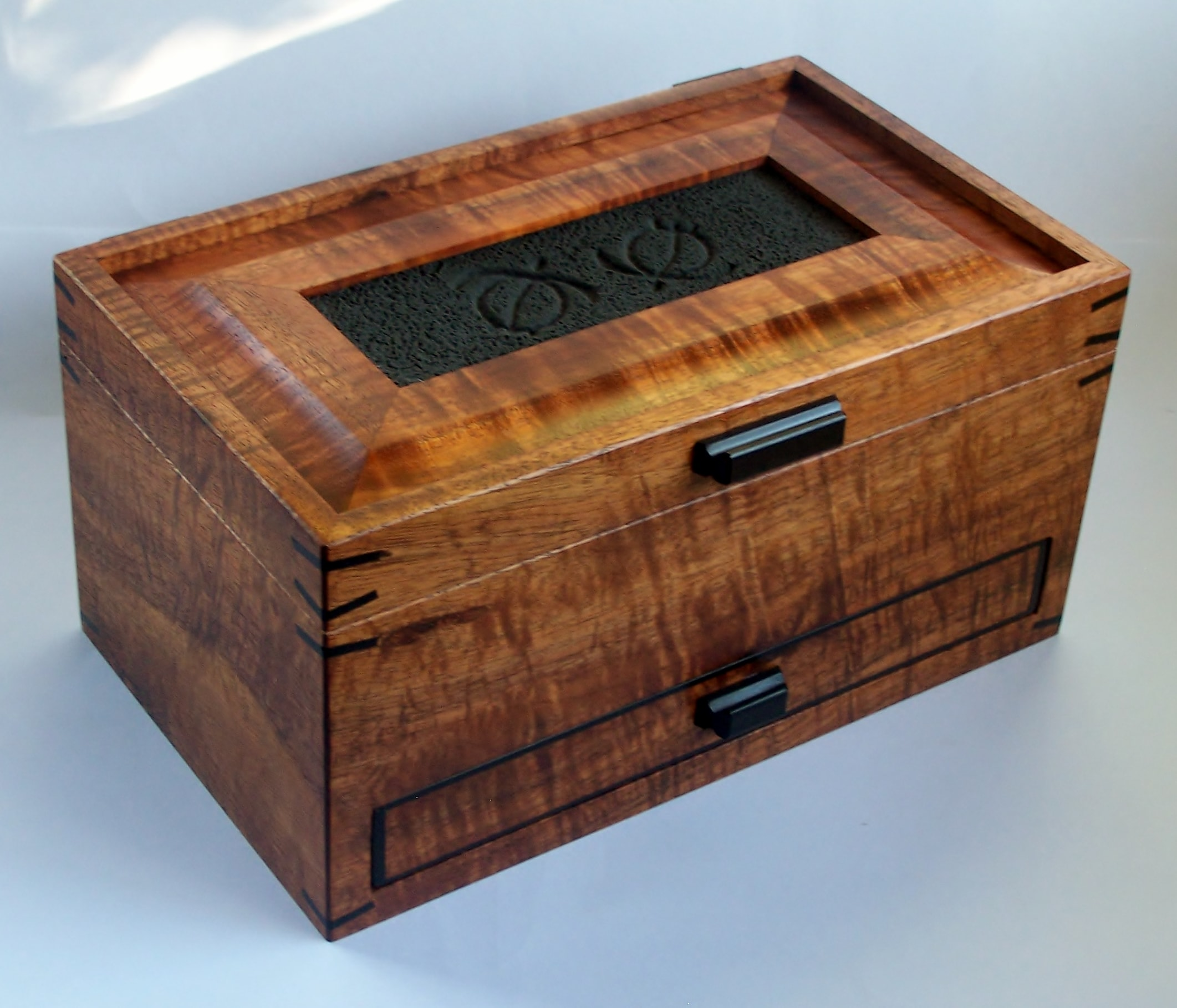 Turtle Petroglyph Drawer Box