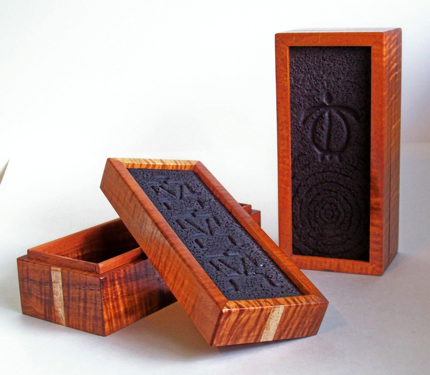 Koa Pencil Box