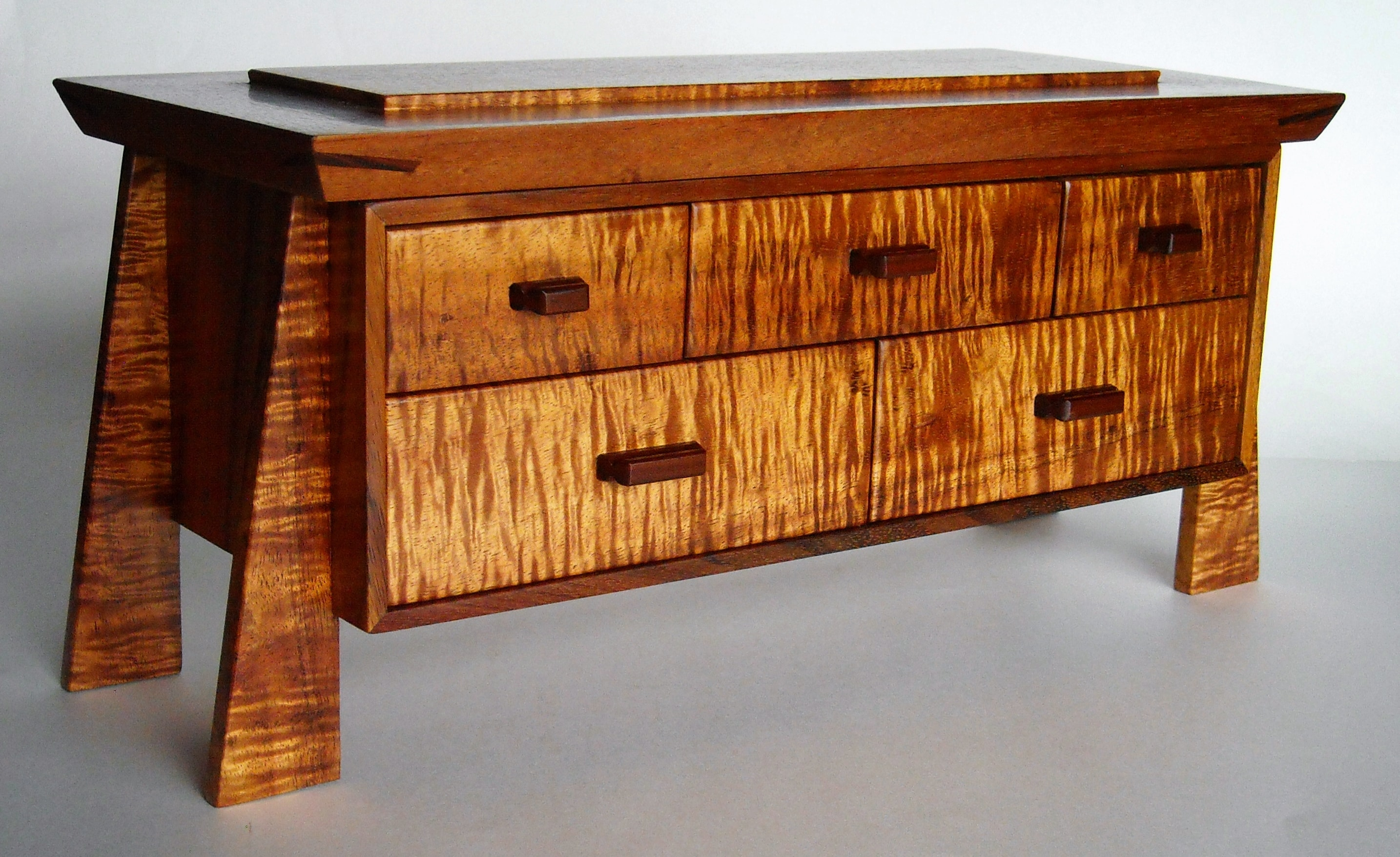 Koa Wood Jewelry Dresser