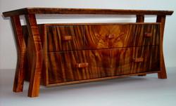 Custom Curly Koa Wood Box