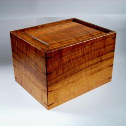 Koa Wood Box Urn