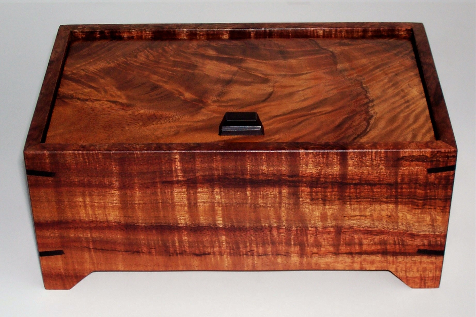 Pin Hinge Koa Box