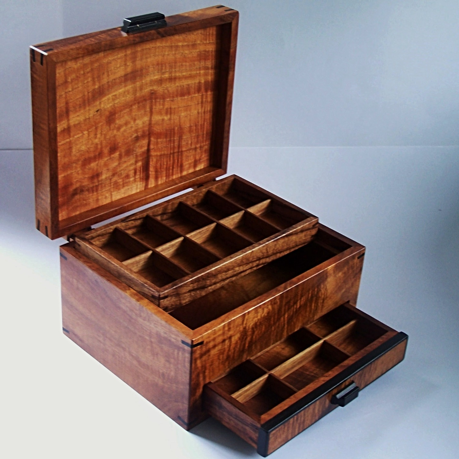 Koa Jewelry Box