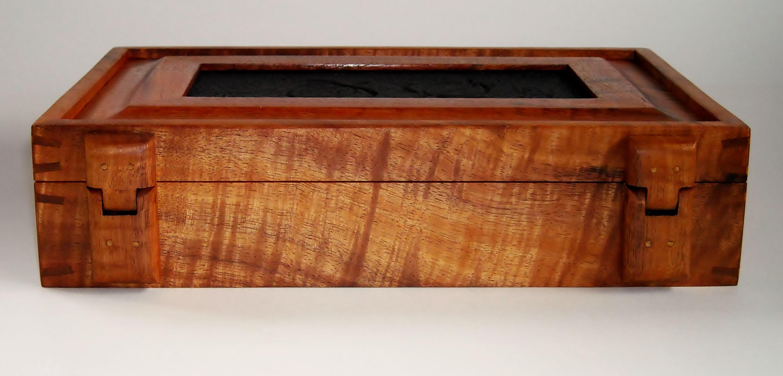 Koa Honu Turtle Valet Box