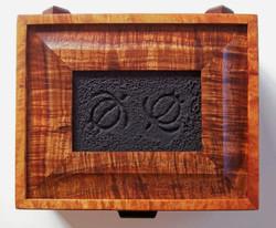8 x 10 inch Petroglyph Koa Box