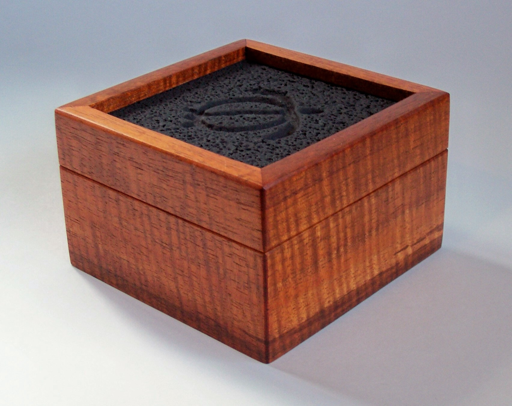 4-inch Square Koa Gift Box