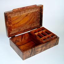 Footed Koa Box