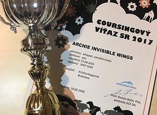 Coursingový víťaz SR 2017