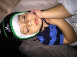 mitchell sleeping eeg