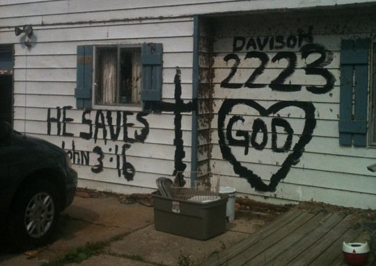 Vandalising for the Lord