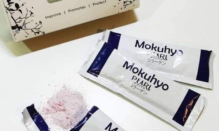 MOKUHYO WHITE PEARL COLLAGEN