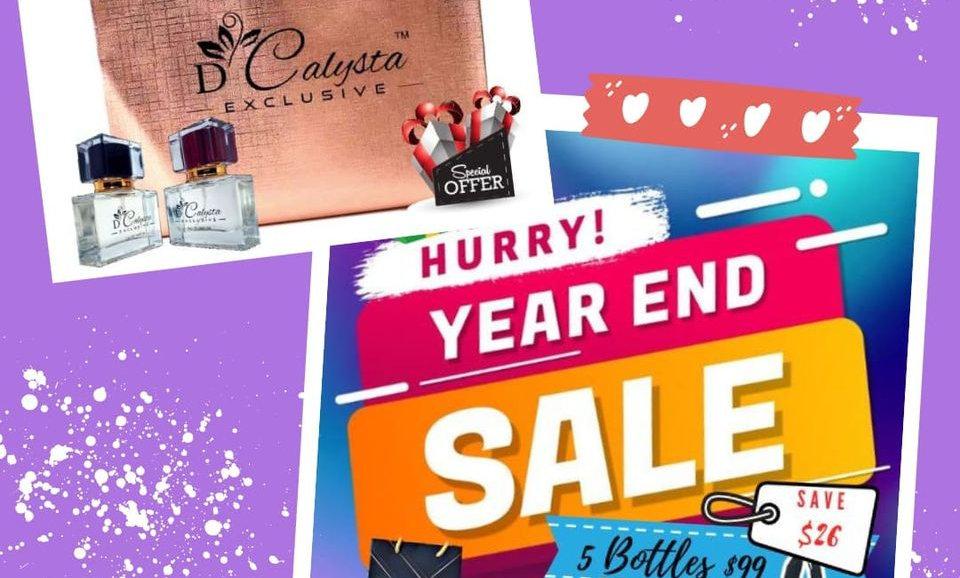 5Bottle D'calysta Perfume women