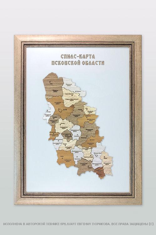 Спилс-карта Псковской области стандарт плюс