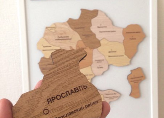 Спилс-карта Ярославской области