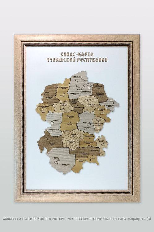 Спилс-карта Чувашии стандарт плюс