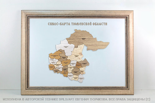 Спилс-карта Тюменской области стандарт плюс