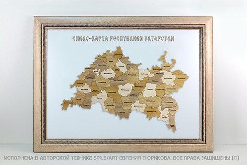Спилс-карта Татарстана стандарт плюс