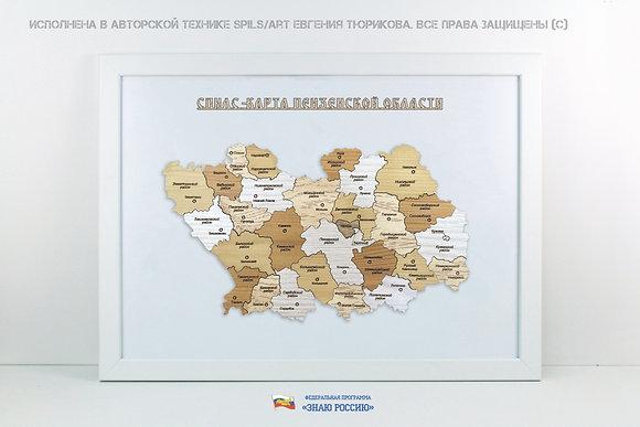 Пензенская область - спилс-карта стандарт