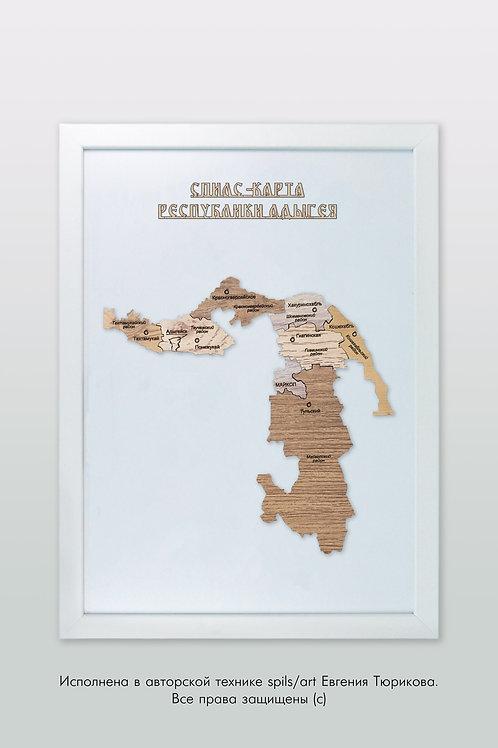 Адыгея - спилс-карта стандарт