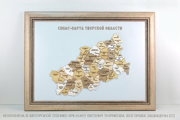 Спилс-карта Тверской области стандарт плюс