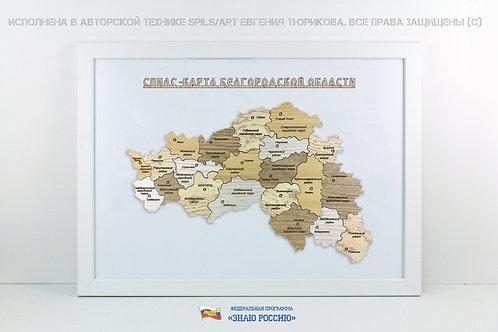 Белгородская область - спилс-карта стандарт