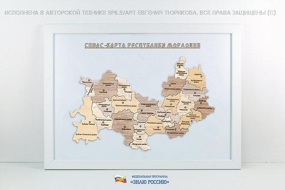 Мордовия - спилс-карта стандарт