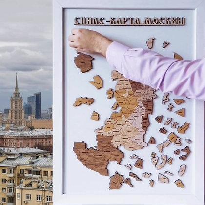 Спилс-карта Москвы стандарт