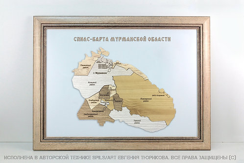 Спилс-карта Мурманской области стандарт плюс