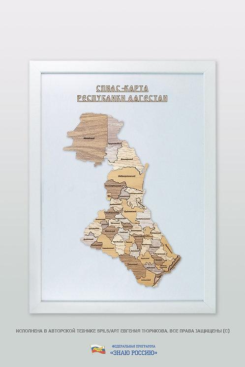 Дагестан Республика - спилс-карта стандартная