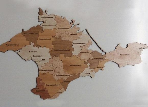 Спилс-карта Крыма