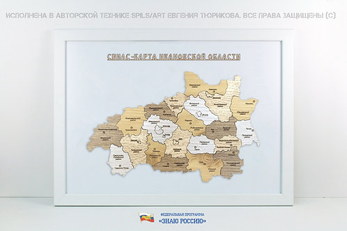 Ивановская область - спилс-карта стандарт