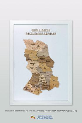 Карелия Республика - спилс-карта стандартная
