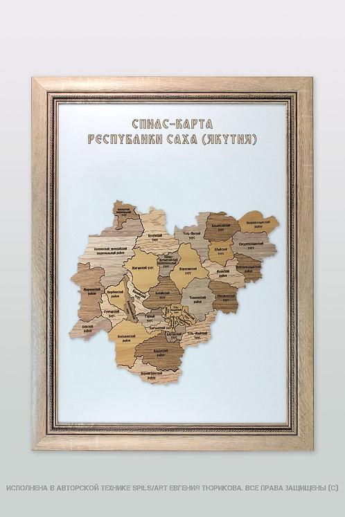 Спилс-карта Якутии стандарт плюс