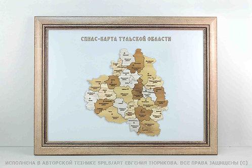 Спилс-карта Тульской области стандарт плюс